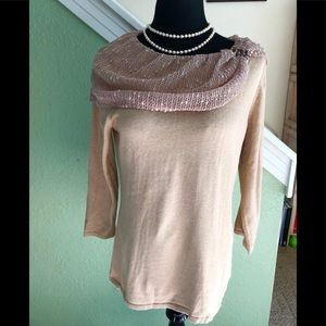 NWT beautiful sweater by Reba in size large